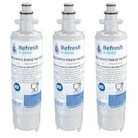 Replacement Water Filter For Kenmore 74023 Refrigerator Water Filter - by Refresh (3 Pack)