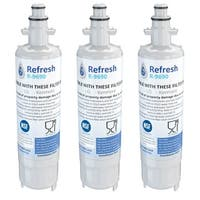 Replacement Water Filter For Kenmore 74033 Refrigerator Water Filter - by Refresh (3 Pack)