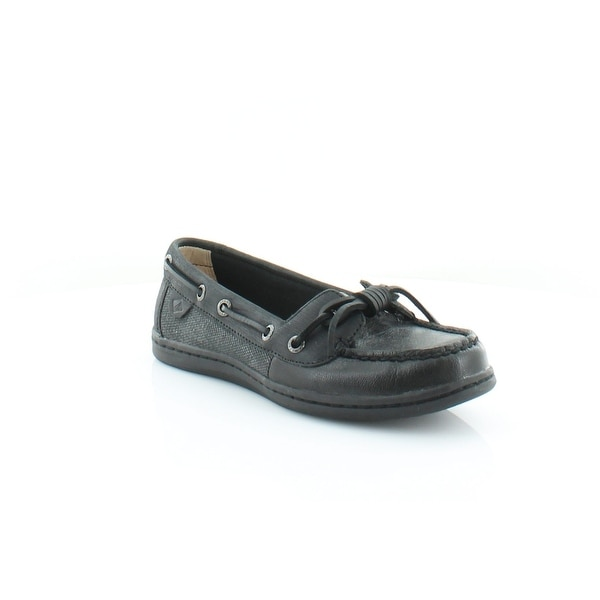 Sperry Top-Sider Barrelfish Women's Flats & Oxfords Black