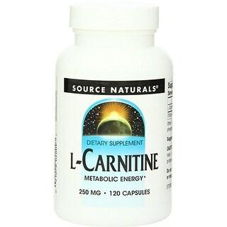 SOURCE NATURALS - L-Carnitine 250 mg 120 Capsule 120 CAPSULE