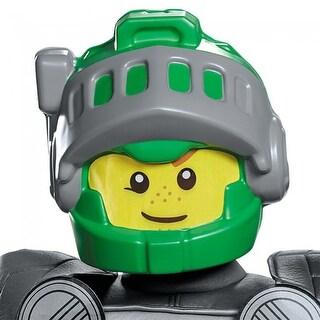 Lego Nexo Knights Aaron Lego Costume Mask Child - Green