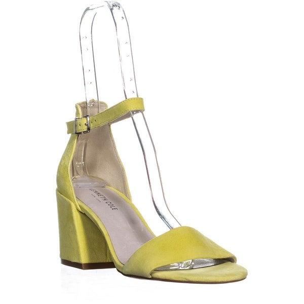 49942885bd Shop Kenneth Cole Hannon Ankle Strap Sandals, Lemon - 9 US / 40 EU ...