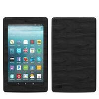 7 in. Amazon Kindle Fire 7th Generation Skin - Black Woodgrain
