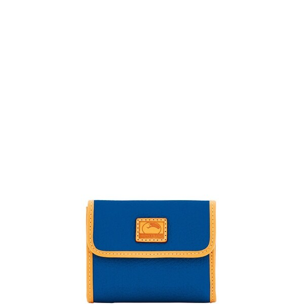 Dooney & Bourke Patterson Leather Small Flap Credit Card Wallet (Introduced by Dooney & Bourke at $98 in Jul 2017)