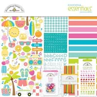"Sweet Summer - Doodlebug Essentials Page Kit 12""X12"""
