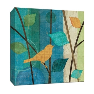 "PTM Images 9-152843  PTM Canvas Collection 12"" x 12"" - ""Magical Forest I"" Giclee Birds Art Print on Canvas"