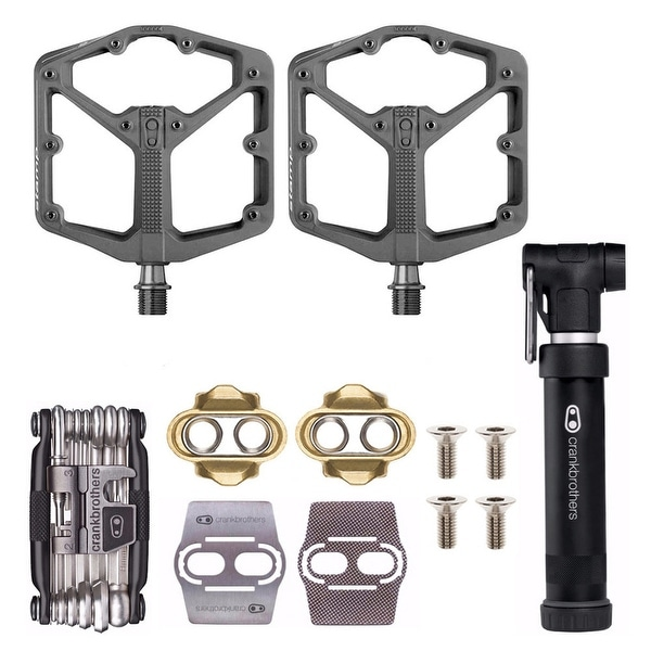 Protects Your Shoes CRANK BROTHERS Premium Cleats and Bike Shoe Shields Set