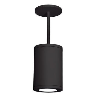"""WAC Lighting DS-PD08-F Tube Single Light 7-7/8"""" Wide Integrated LED Outdoor Mini"""