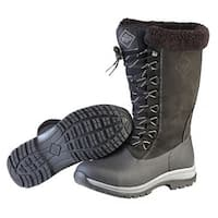 Muck Boots Black/Charcoal Women's Arctic Apres Lace Tall Boot - Size 9