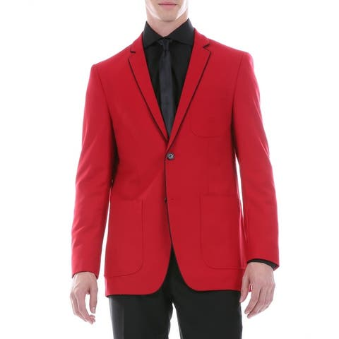 Mens Porter Slim Fit Two Buttons Blazer