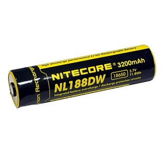 NITECORE NL188DW 3200mAh Rechargeable Battery for R25 Flashlights