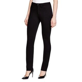 NYDJ Womens Petites Ankle Pants Slim Fit Solid