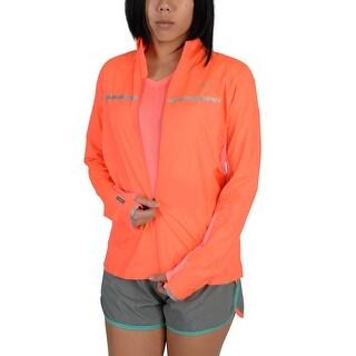 Saucony Womens Speed Of Lite Jacket Orange