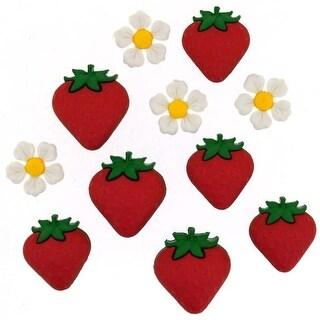 Fresh Strawberries - Dress It Up Embellishments