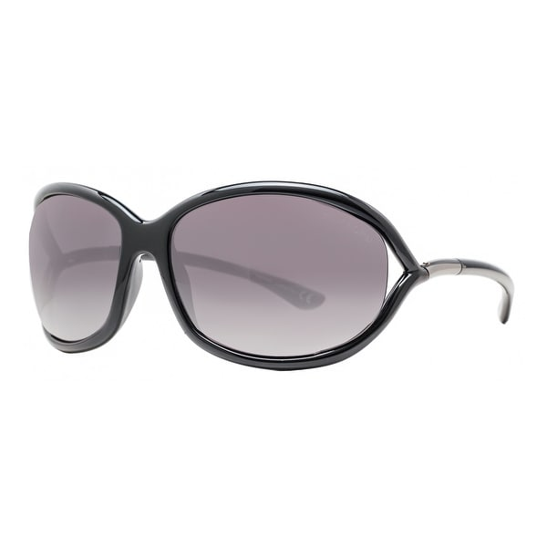 6d04a6e398 Tom Ford Jennifer TF 8 01B Black Gray Gradient Women  x27 s Soft Square