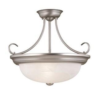 Millennium Lighting 5035 3 Light Semi-Flush Ceiling Fixture