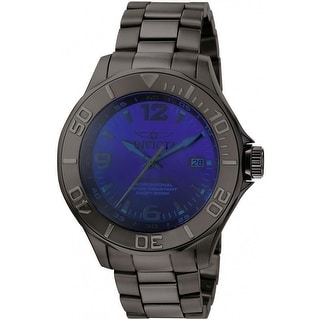 Link to Invicta Men's 0421 'Pro Diver' Automatic Gunmetal Stainless Steel Watch - Blue Similar Items in Men's Watches