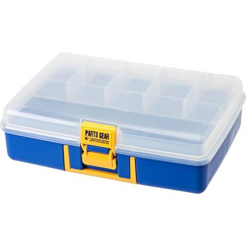 IRIS Parts Gear Organizer Case in Blue