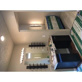 Danya B QBA486 30 Inch Tall 5 Tier Wall Shelf