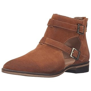 Chinese Laundry Womens Dandie Ankle Boots Suede Cut-Out - 5 medium (b,m)