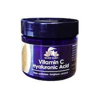 White Egret Vitamin C Hyaluronic Acid Cream, 2 Ounce