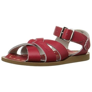 Salt Water Sandals Infant Leather Sandals - 3 medium (b,m)