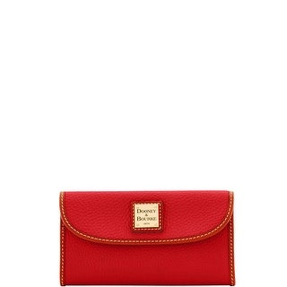 Dooney & Bourke Pebble Grain Continental Clutch Wallet (Introduced by Dooney & Bourke at $128 in Sep 2017)