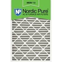 Nordic Pure24x30x2 Pleated MERV 13 AC Furnace Air Filters Qty 3