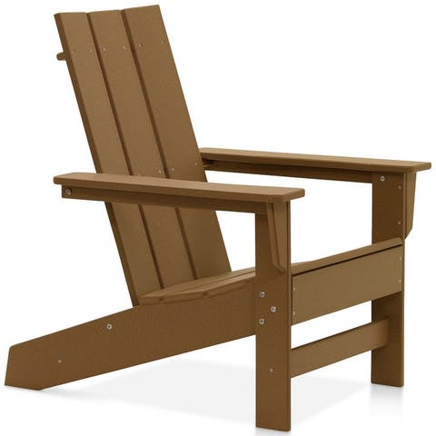 Hawkesbury Recycled Plastic Modern Adirondack Chair by Havenside Home