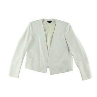 Theory Womens Nabiel C Blazer Wool Blend Cropped