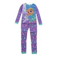 Nickelodeon Girls Purple Shimmer Shine Long Sleeve 2 Pcs Pajama Set