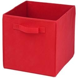 Red -Folding Storage Cube