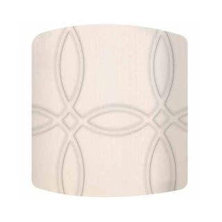 PTM Images 10-0181 Trellis 9 Inch Tall x 12 Inch Wide Cylinder Fabric Lamp Shade with Spider Fitter - CREAM|https://ak1.ostkcdn.com/images/products/is/images/direct/373ab8a21dc7f368c15e7e92c07a4201d2e7f32e/PTM-Images-10-0181-Trellis-9-Inch-Tall-x-12-Inch-Wide-Cylinder-Fabric-Lamp-Shade-with-Spider-Fitter.jpg?impolicy=medium