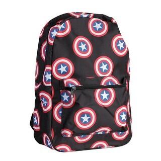 Captain America Shield Emblem Backpack