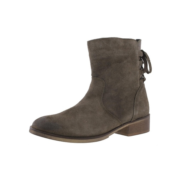 Steve Madden Womens Calumet Ankle Boots Suede