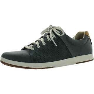 Clarks Mens Norwin Style Casual Lace Up Sneakers - olive/olive