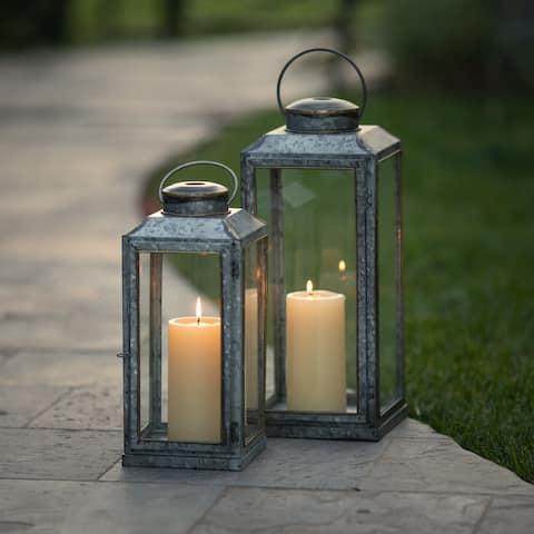 Alberta Galvanized Lantern