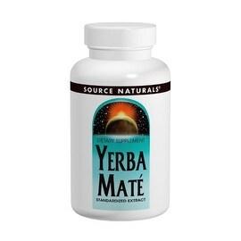 SOURCE NATURALS - Yerba Mate 600 mg 90 Tablet 90 TABLET