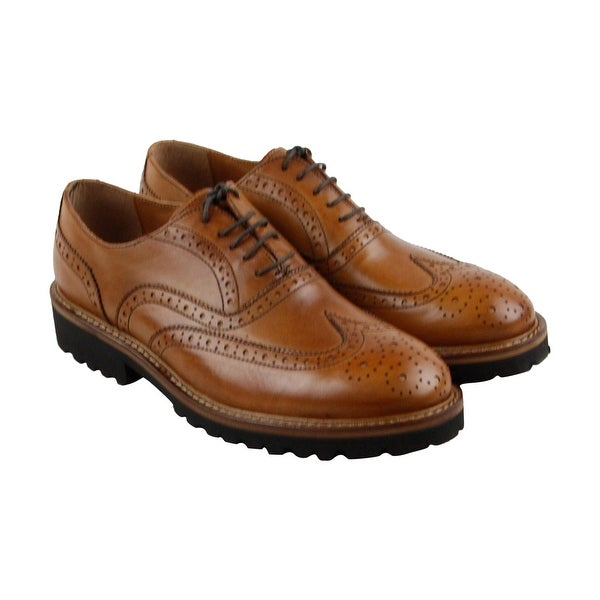 Kenneth Cole New York Design 10801 Mens Brown Casual Dress Oxfords Shoes