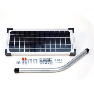 Mighty Mule FM123 Solar Panel Kit for Automatic Gate Openers, 10 Watts