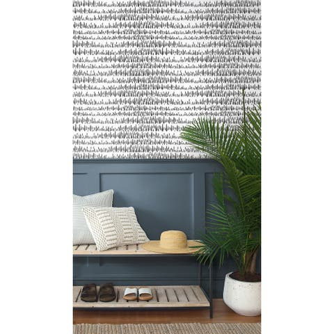 NextWall Brush Marks Abstract Peel and Stick Wallpaper - 20.5 in. W x 18 ft. L