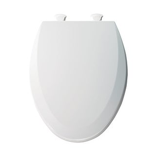 Bemis 1500EC Elongated Molded Wood Toilet Seat with Easy-Clean & Change  Hinge - N/A