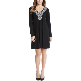 Karen Kane Womens Cocktail Dress Jersey Pullover - M