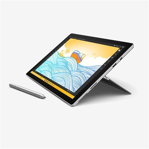 """Refurbished """"Microsoft Surface Pro 4 Tablet WX3-00001 Surface Pro 4 Tablet"""". Opens flyout."""