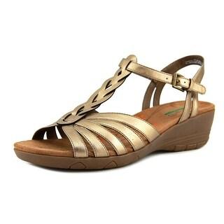Baretraps Honora Women  Open Toe Leather Bronze Sandals