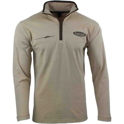 Shoebacca Brushed Jersey 1/4 Zip