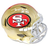984f7c7c793 Shop Jerry Rice Autographed San Francisco 49ers Replica Helmet BAS ...