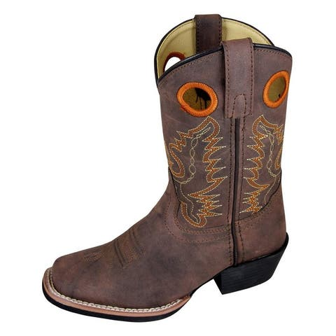 8a68afc9ac7 Buy Western Boots Online at Overstock | Our Best Boys' Shoes Deals