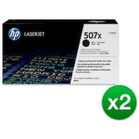 HP 507X Black Contract LaserJet Toner Cartridge (CE400X)(2-Pack)