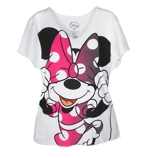Disney Minnie Mouse Bow T Shirt - Pink